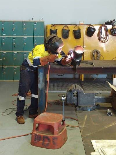 Welder Qualification Testing